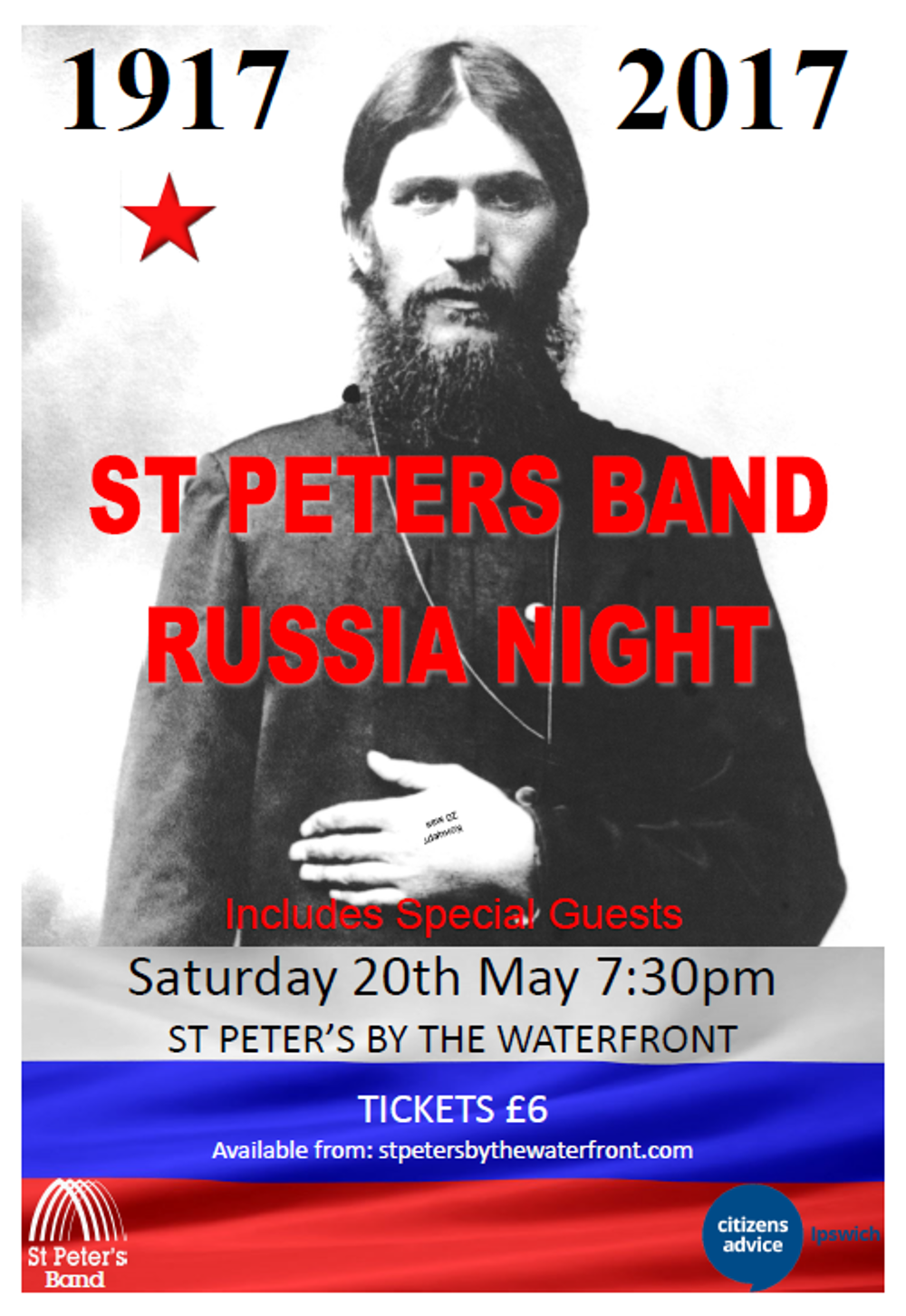 st peters band russian night